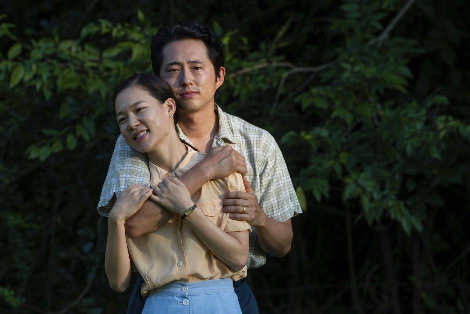 "Ehepaar mit Problemen: Yeri Han (links) und Steven Yeun in ""Minari"""