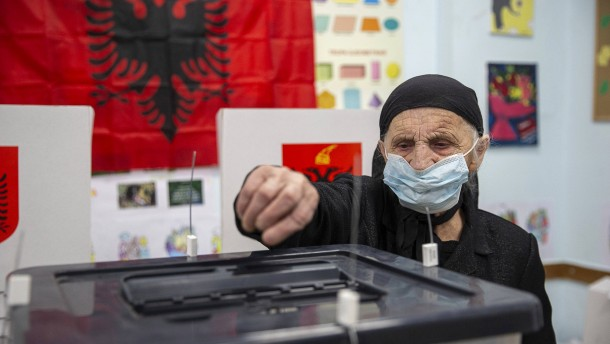 Albanien wählt neues Parlament