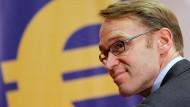 Kann sich über ein stattliches Gehalt freuen: Bundesbankchef Jens Weidmann