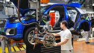 Viel Theater bei den vier Ringen: Audi-Produktion am Stammsitz in Ingolstadt