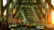 Sturmschaden an der Bay Bridge