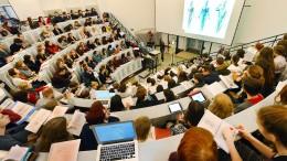Anzahl der Studierenden aus dem Ausland steigt