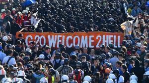 Prozess wegen G-20-Ausschreitungen beginnt
