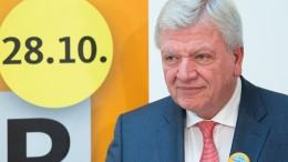 Bouffier sieht keine Wechselstimmung in Hessen