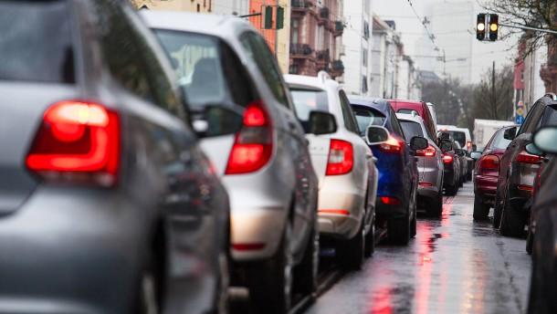 Sperrung einiger Straßen in Frankfurt wahrscheinlich