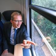 Ab nach Deutschland: Alstom-Chef Henri Poupart-Lafarge will von den hohen Bahninvestitionen profitieren.