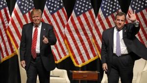Chris Christie stellt für Trump neues Wahlkampfteam auf