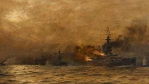 Eine Seeschlacht ohne Sieger