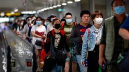 China kämpft gegen das Coronavirus