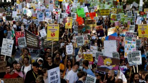 In fast 160 Staaten streiken Klimaaktivisten