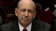 Schlagabtausch zwischen Senatoren und Goldman
