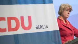 Wie sich die Berliner CDU selbst zerlegt