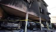 Der Angeklagte soll im Winter 2011/12 in Hollywood 47 Feuer gelegt haben.