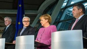 """Steinmeier will """"Mutmacher"""" sein"""