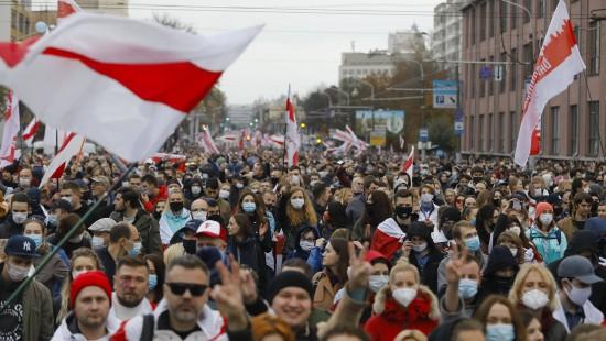 Demonstranten fordern abermals Lukaschenkas Rücktritt
