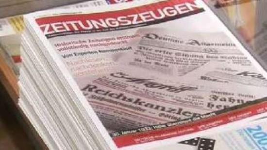 """""""Zeitungszeugen"""" geben Einblick in NS-Zeit"""