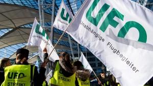 Ufo gibt am Nachmittag Streikzeiten für Lufthansa-Flüge bekannt