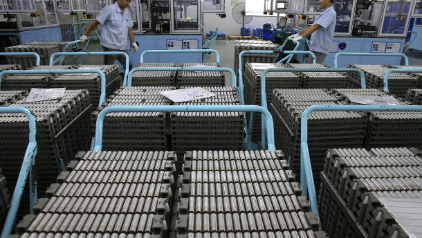 Nobelpreis für die Entwicklung von Lithium-Ionen-Batterien