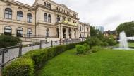 Das Zoogesellschaftshaus in Frankfurt: Hier soll ein Kinder- und Jugendtheater entstehen.