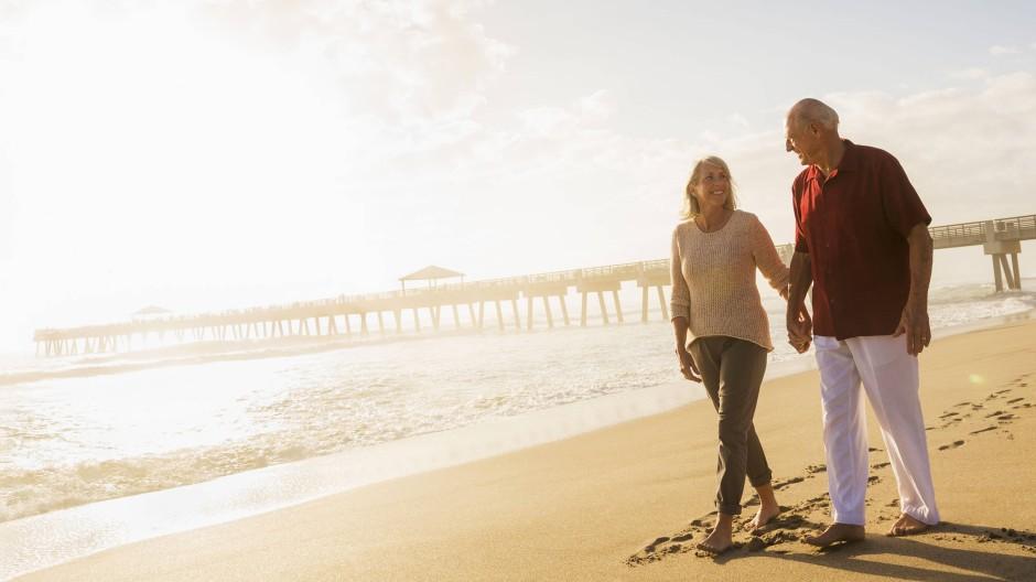 Vorkalkuliert: 70 bis 80 Prozent des letzten Nettoeinkommens braucht man noch im Ruhestand.