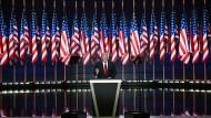 Trump will Kandidat für Recht und Ordnung sein