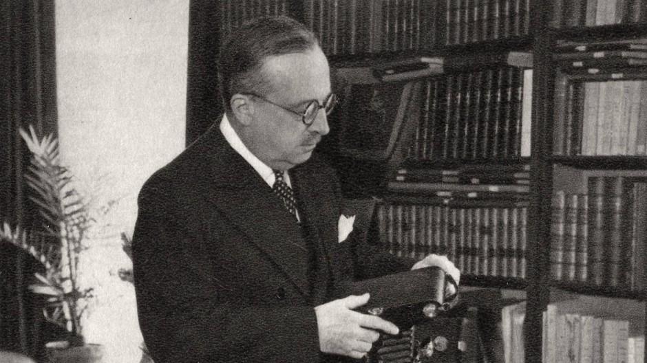 André Tardieu war von 1926 bis 1932 mehrmals Ministerpräsident in Frankreich.