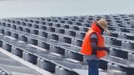 So will Singapur Solarenergie auf dem Wasser gewinnen