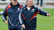 Heynckes leitet erstes Bayern-Training