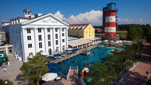 """Das 4-Sterne Superior Hotel """"Bell Rock"""" im größten Hotel Resort Deutschlands."""