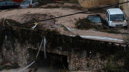 Großes Unwetter wütet in Spanien