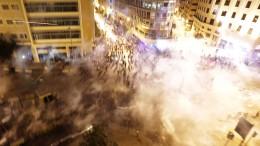 Bevölkerung im Libanon protestiert