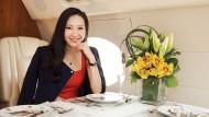 Drei Oneway-Flüge pro Woche: Der Hongkonger Privatjet-Anbeiter von Jenny Lau fliegt noch, obwohl fast alle Fluggesellschaften die Verbindungen in die Volksrepublik gekappt haben.