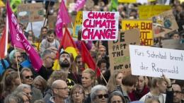 So oft wird in hessischen Großstädten demonstriert