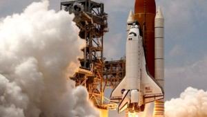 Atlantis zur Hubble-Reparatur gestartet