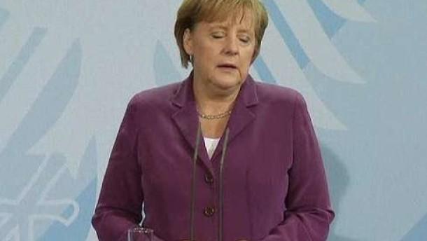 """Merkel: Kann keine """"Zeitperspektive"""" nennen"""