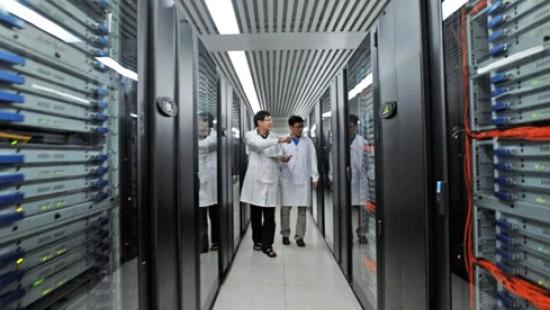 Der schnellste Computer der Welt steht in China