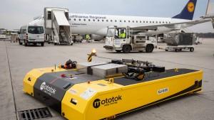 Frankfurter Flughafen testet neuartigen Schlepper