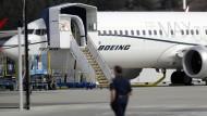 Diese Boeing 737 Max hebt vorerst nicht ab. Möglicherweise hätte die amerikanische Luftfahrtbehörde FAA aber schon früher einschreiten müssen.