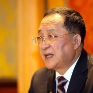 Der nun ehemalige Nordkoreanische Außenminister Ri Yong-ho im März 2019