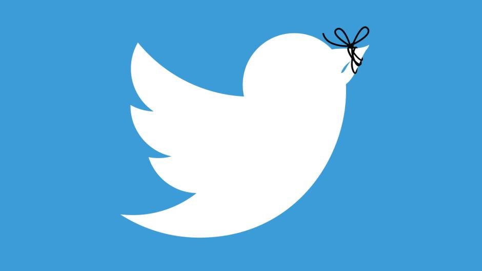 Das Twitter-Symbol, leicht verändert.