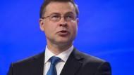 EU-Kommissar Valdis Dombrovskis