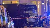 Bilder vom Terroranschlag auf den Berliner Weihnachtsmarkt gingen um die Welt.