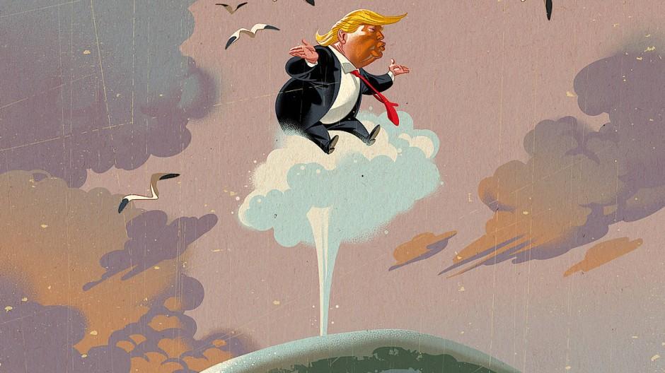 Donald Trump und Hybris des Kapitäns Ahab: Sie reißen alles mit sich in den Abgrund.