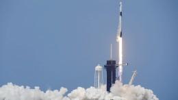 SpaceX zur ISS gestartetet