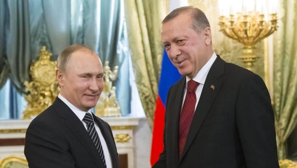 Putin und Erdogan kommen sich wieder näher