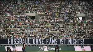 Ost-West-Konflikt um Fußballzuschauer