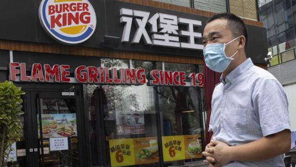 Burger King in China verkaufte offenbar altes Fleisch