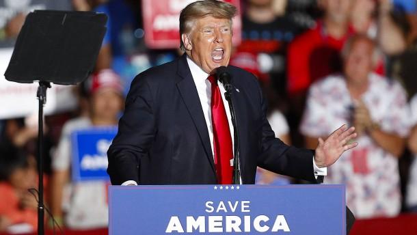 Trump spricht erstmals wieder vor Anhängern