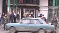 Zwei Detonationen in der U-Bahn