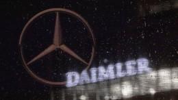 Diesel-Klage gegen Daimler